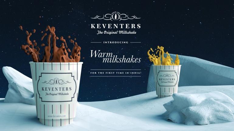 Warm milkshake at Keventers.n