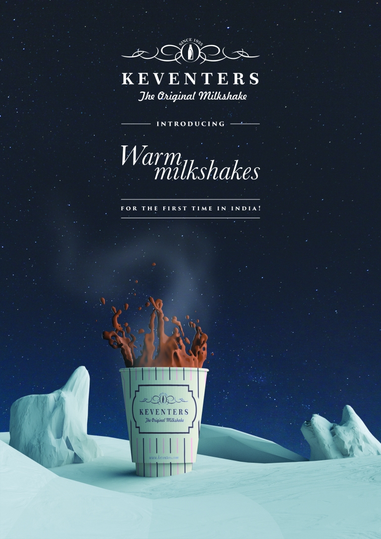 Warm milkshake at Keventers