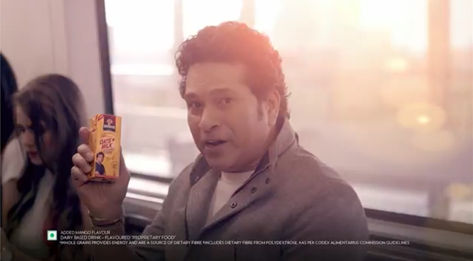 Quaker Oats + Milks new TVC featuring Sachin Tendulkar