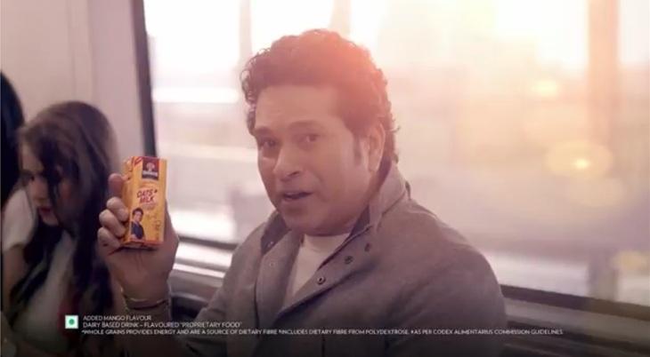 Quaker Oats + Milks new TVC featuring Sachin Tendulkar