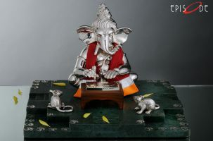 Writing Ganesha