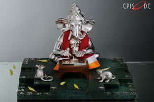 Writing Ganesha