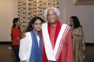 Art Curator Seema Subbanna & Shri Rajeev Sethi
