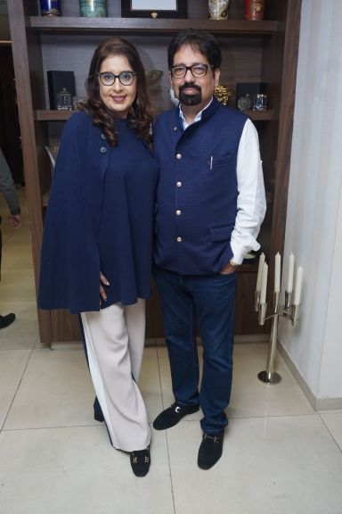 Renu and Veresh Kalra