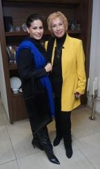 Samantha Kochhar with Blossom Kochhar
