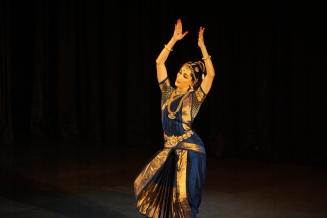 Artist Amrita Lahiri performing at Mahashivratri Concert