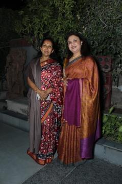 L-R Kaushalya Reddy with Vaishali Jain