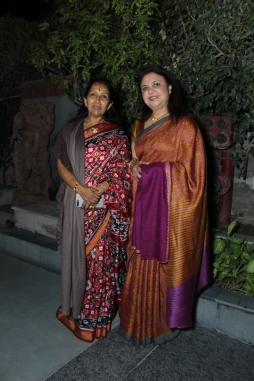 L-R Kaushalya Reddy with Vaishali Jain