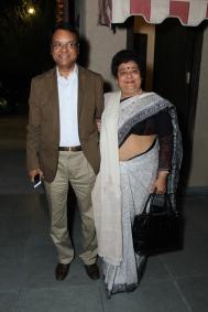 L-R Om Shankar Pandey and Manju Pandey