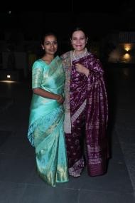 L-R Yamini Reddy with Nidhi Jain