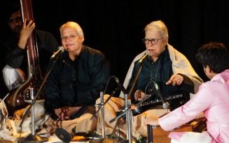 Pandit Rajan Sajan Misra performing at Mahashivratri Concert