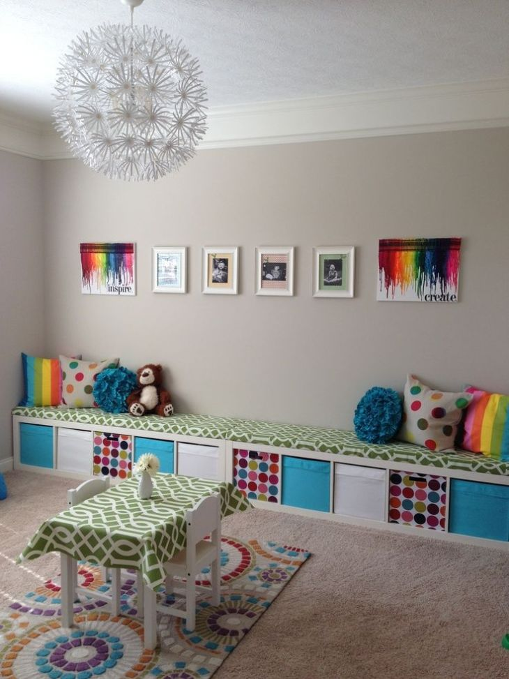 Colourful home interior