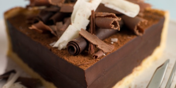 Chocolate Rasmalai Terrine