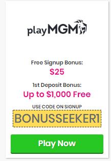 Play MGM Bonus Code