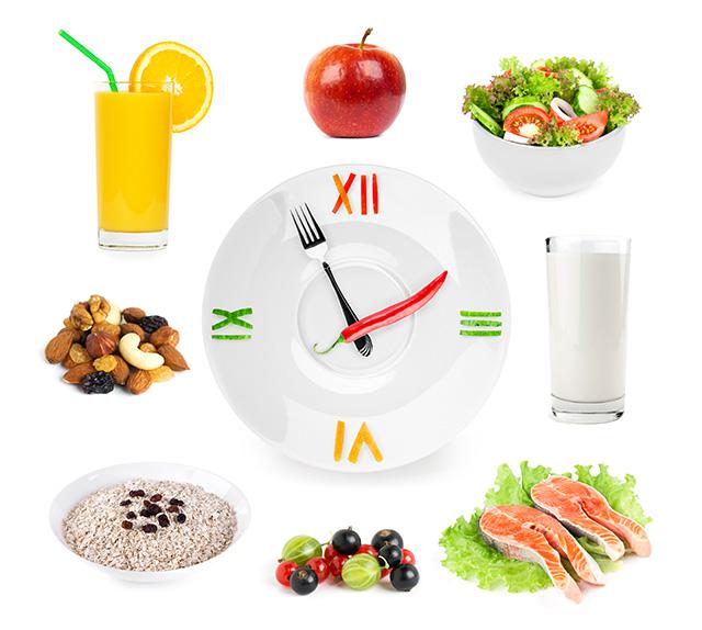 Eat a regular diet