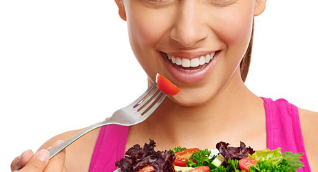 Healthy food and healthy life