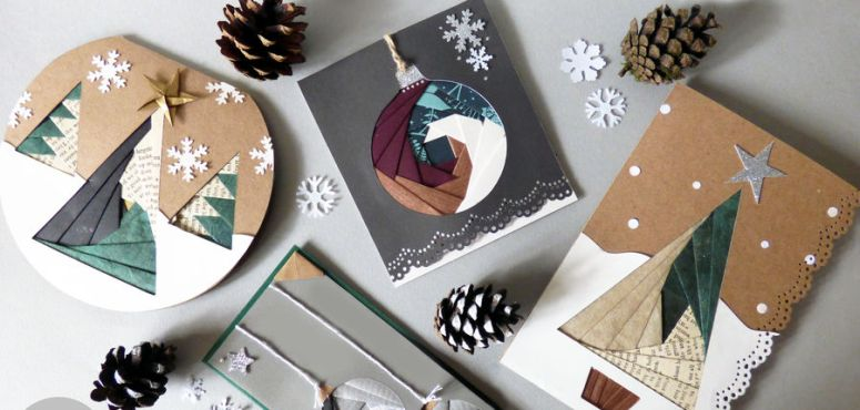 design some beautiful Christmas cards
