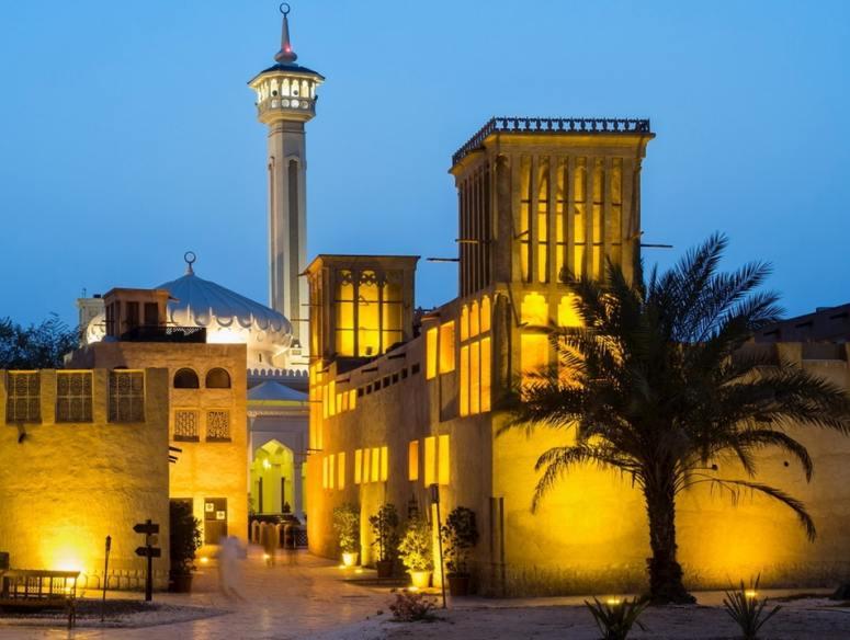 Dubai AL Fahidi Historical Place