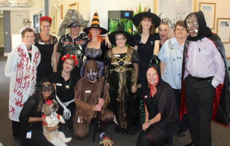 guests to dress up on various themes of Halloweens