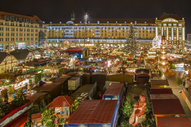 Dresden Germany Christmas market