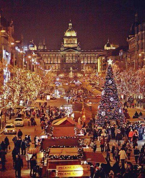 Prague Czech Republic christmas market
